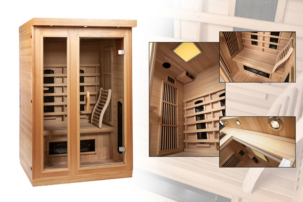 sauna infrarood cabine 39 s van supersauna al vanaf 895. Black Bedroom Furniture Sets. Home Design Ideas